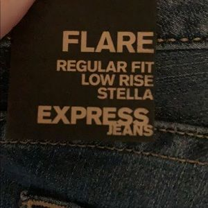 Express Jeans - Express flare low rise Stella jeans